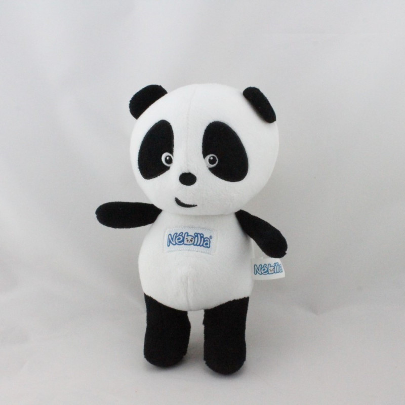 Doudou panda noir blanc Nébilia JEMINI