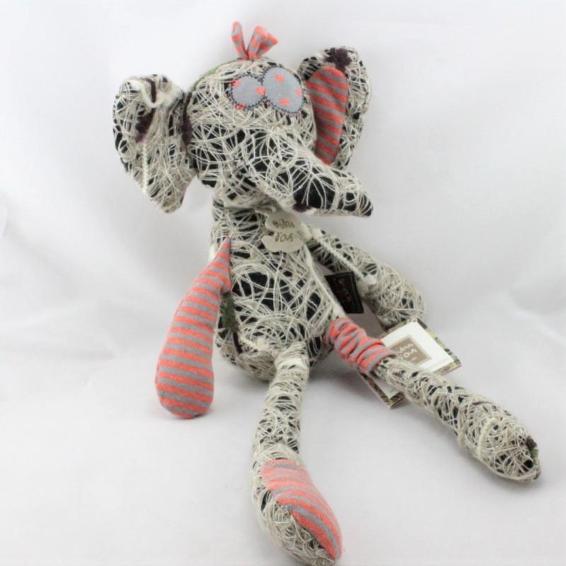 Doudou éléphant Hobo Bric à Brac HISTOIRE D'OURS
