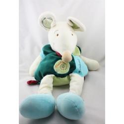 Doudou et compagnie range pyjama souris verte Filousine