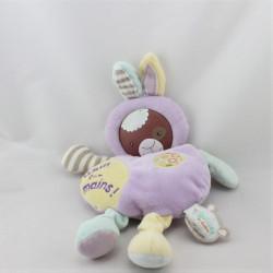 Doudou et compagnie les Bouilles Le lapin Haut les mains