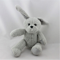 Doudou lapin gris PLANET ET CO