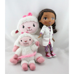 Doudou Doc McStuffins Docteur avec mouton DISNEY JUNIOR