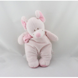 Doudou souris rose Bengy
