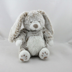 Doudou lapin marron beige blanc TEX BABY