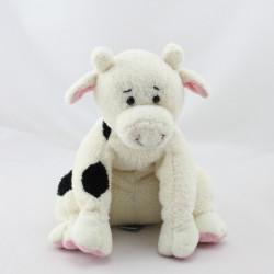 Doudou vache blanche noir HAPPY HORSE