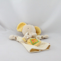 Doudou plat marionette éléphant les Loustics MOULIN ROTY