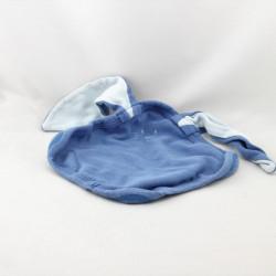 Doudou plat lapin bleu PETIT BATEAU