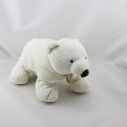 Doudou Ours Polaire Blanc Baby Nat
