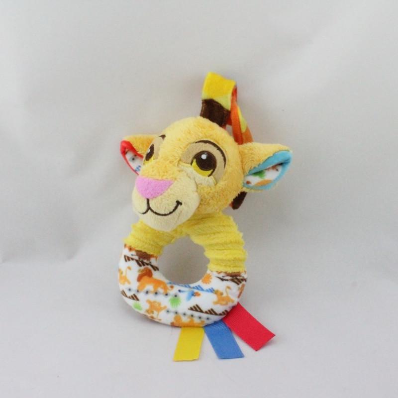 Doudou hochet Simba le roi lion DISNEY