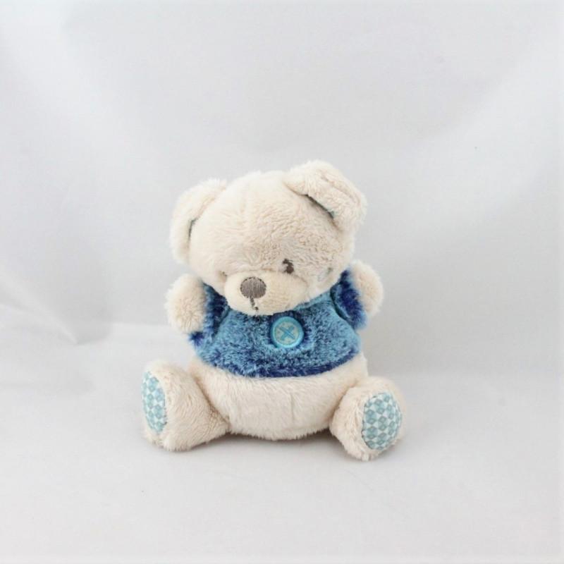 Petit Doudou ours beige bleu SIMBA TOYS NICOTOY