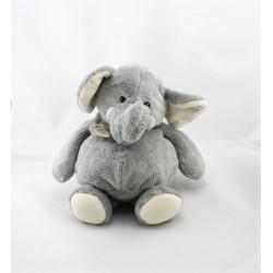Doudou éléphant gris HISTOIRE D'OURS
