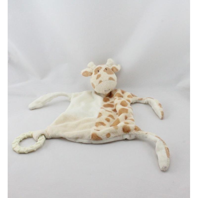 Doudou plat girafe anneau hochet MARKS & SPENCER