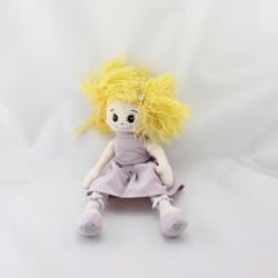Doudou poupée robe mauve H ET M H.M H&M