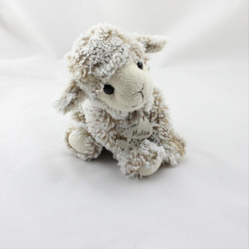 Doudou mouton beige HISTOIRE D'OURS