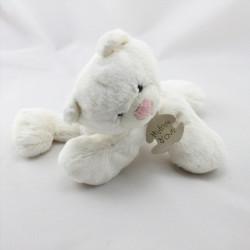 Doudou chat blanc HISTOIRE D'OURS