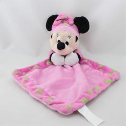 Doudou plat luminescent Minnie rose Brille dans la nuit DISNEY