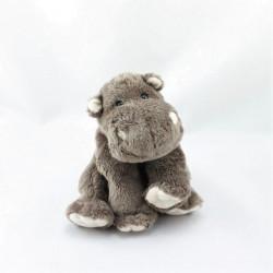 Doudou hippopotame marron SOFT FRIENDS