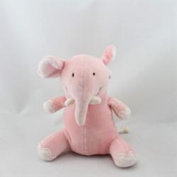 Doudou éléphant rose OBAIBI