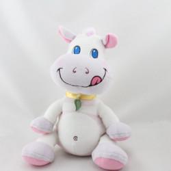 Doudou cheval zébre blanc rose mauve EURO