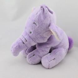 Doudou peluche Eléphant Lumpy mauve Disney store
