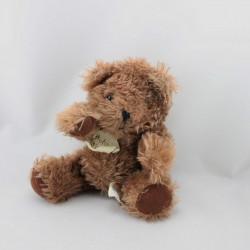 Doudou peluche ours marron articulé HISTOIRE D'OURS