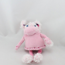Doudou peluche Les Gentils Monstres rose