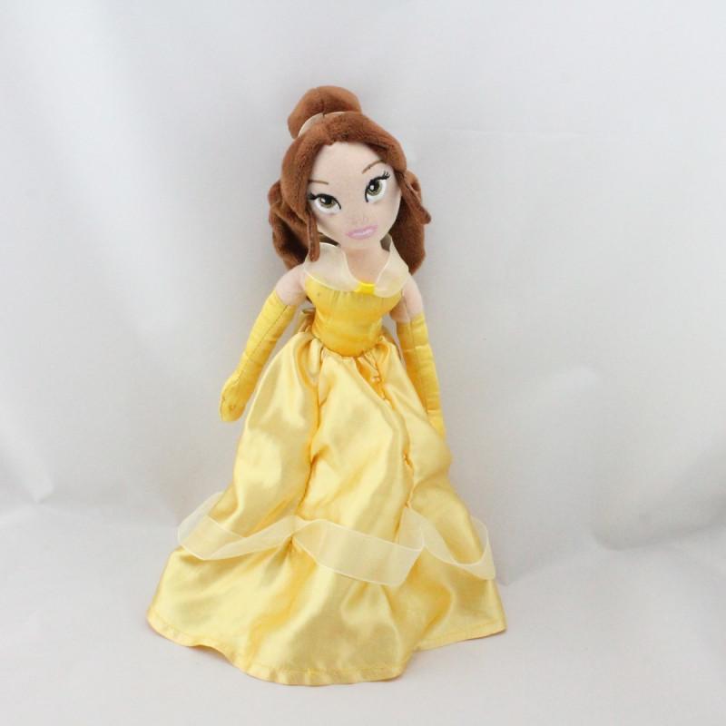 Doudou peluche poupée Princesse La Belle et la Bête DISNEY