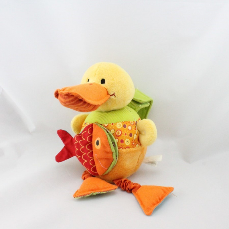 Doudou musical Nicky le canard LILLIPUTIENS