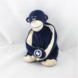 Doudou singe bleu marine ENVOG