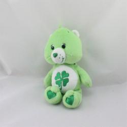 Peluche Bisounours vert Grosveinard trèfle CARE BEARS 35 cm