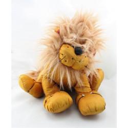 Doudou puffalump lion marron AUCHAN