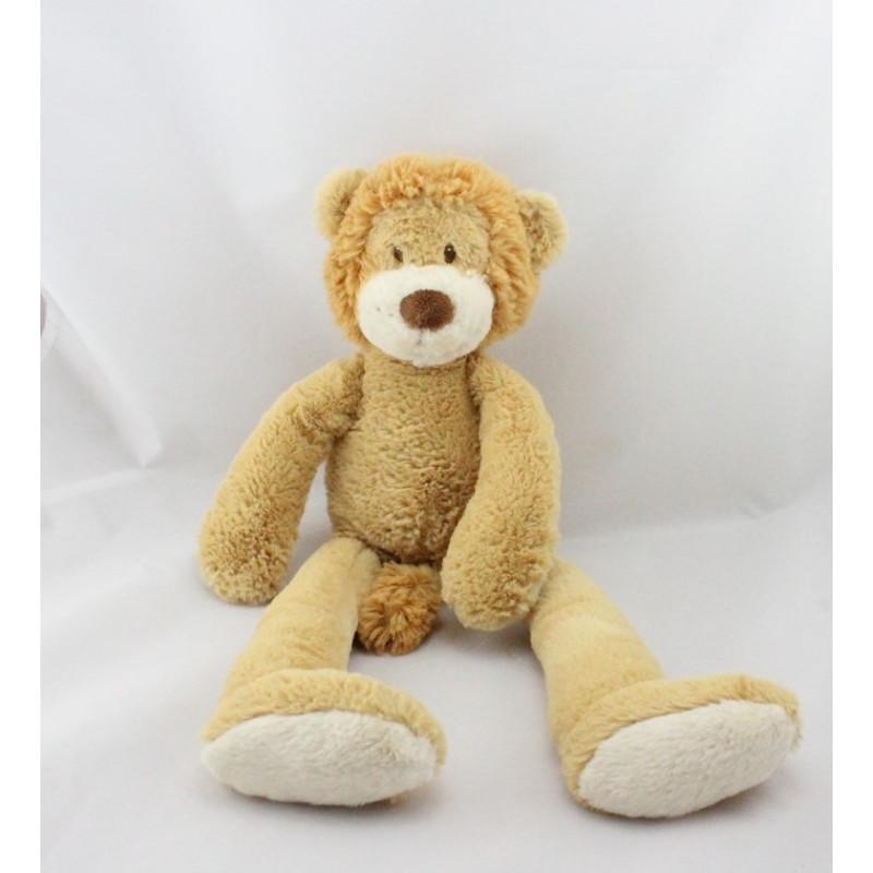 Doudou Lion beige marron NICOTOY
