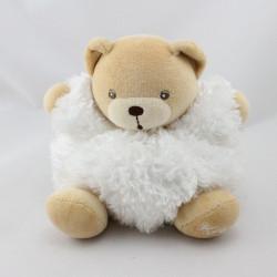 Doudou ours blanc Fur fourrure KALOO