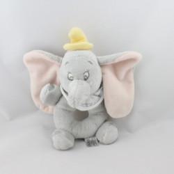 Doudou hochet éléphant gris Dumbo DISNEY STORE