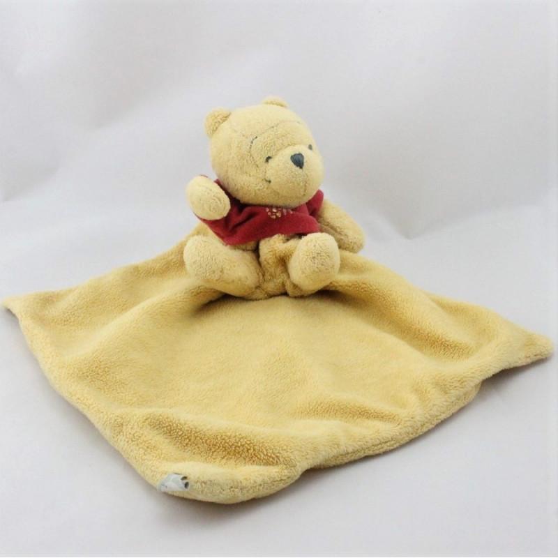 Doudou Winnie l'ourson mouchoir Disney baby
