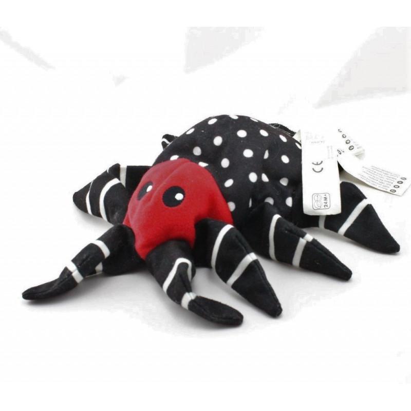 Doudou marionnette araignée IKEA