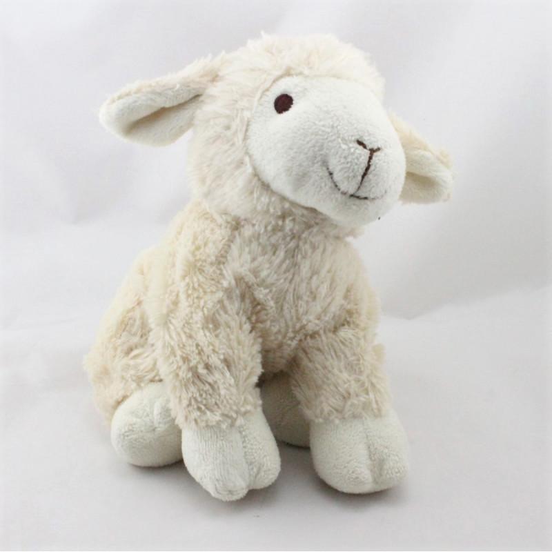 Doudou mouton blanc créme LASCAR