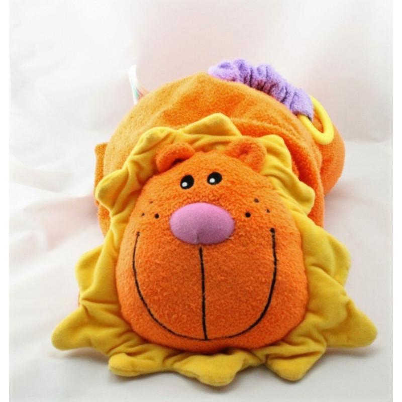 Doudou eveil lion orange Tiny love