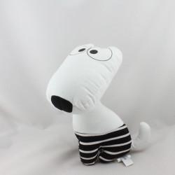 Doudou chien blanc noir pois ETAM