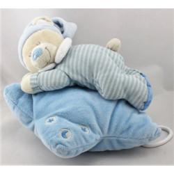 Doudou musical ours bleu sur étoile NICOTOY