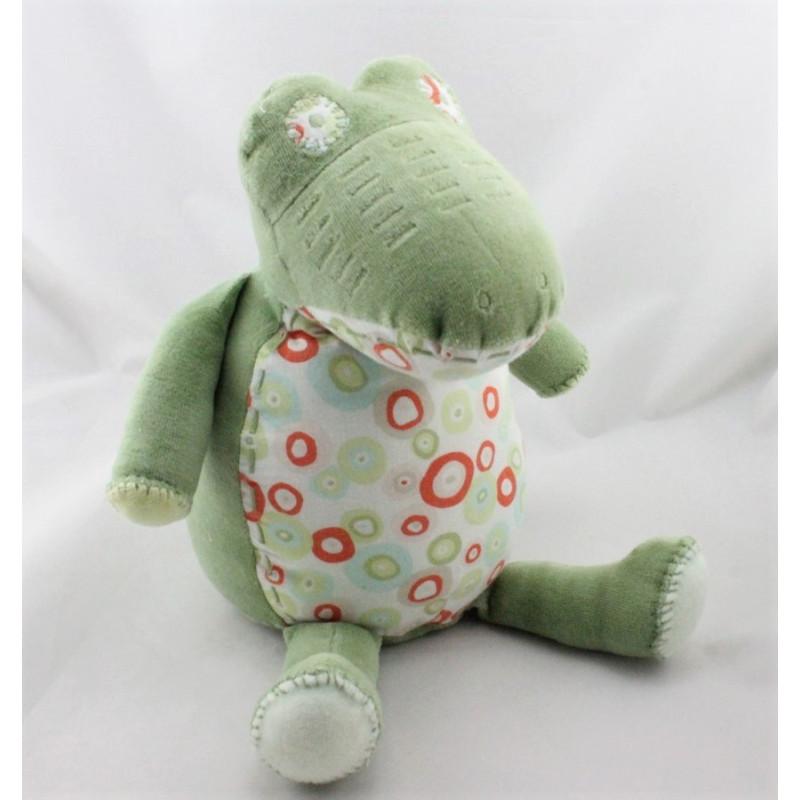 Doudou crocodile vert  NATALYS