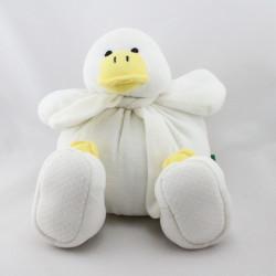 Doudou poussin canard blanc BENETTON