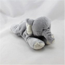 Doudou éléphant gris NATURE PLANET