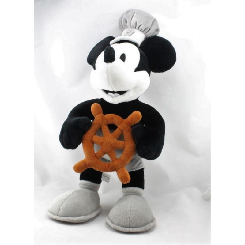Peluche Mickey capitaine Steamboat DISNEYLAND RESORT