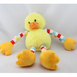Doudou canard poussin jaune CMI CARREFOUR
