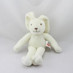 Doudou lapin blanc FNAC JUNIOR