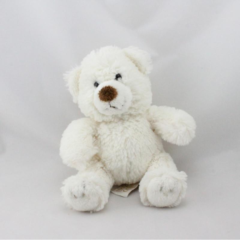 Doudou ours blanc ANNA CLUB PLUSH