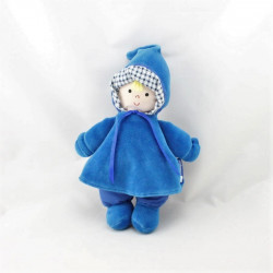 Doudou poupée lutin bleu ITSIMAGICAL