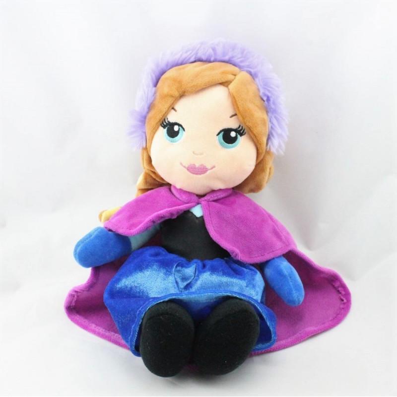 Peluche Anna La Reine des Neiges Frozen DISNEY FAMOSA