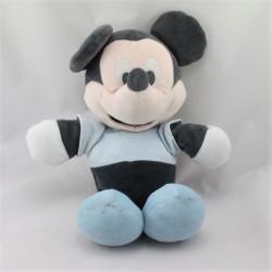 Doudou Mickey bleu noir DISNEY NICOTOY